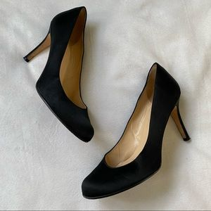 Kate Spade Satin Round Toe Pumps Heels